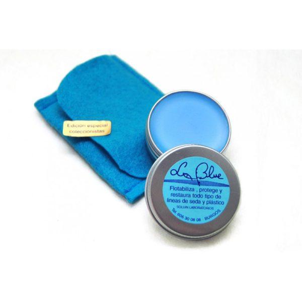 Acondicionador líneas de plástico y seda La Blue